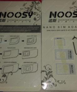 Bộ chuyển đổi khay sim 3 trong 1 Noosy Nano Sim Adapter