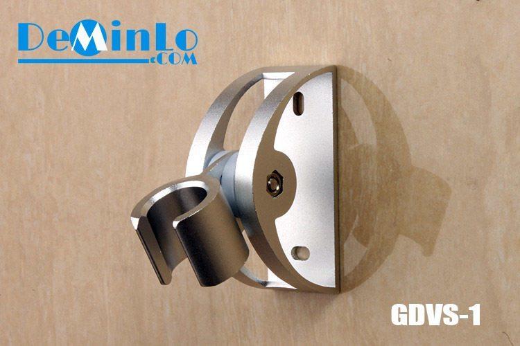Giá đỡ vòi sen - gác vòi sen nhôm GDVS-1 chỉnh được góc hình bán nguyệt