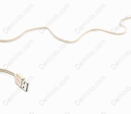 Thiết kế dây dẹp chống rối độ bền cao của cáp Lightning Yoobao YB-413 100cm