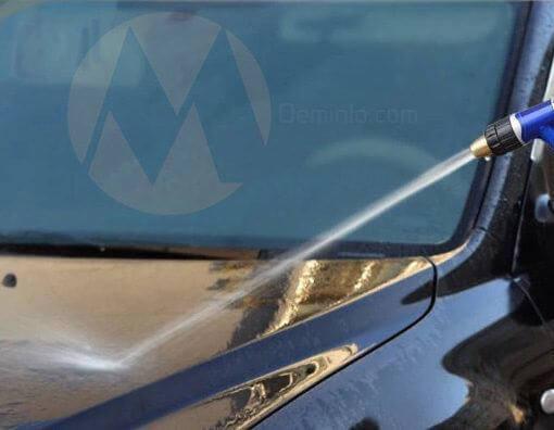 Rửa ôtô tại nhà bằng bộ vòi rửa xe siêu bền đa năng