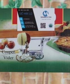 Hộp của máy gọt táo cắt khoanh inox
