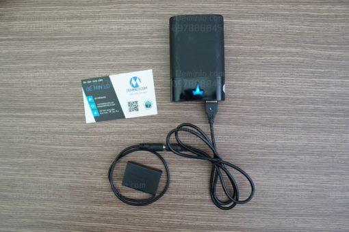 pin dummy dùng nguồn sạc dự phòng cho máy ảnh canon g7x mark 2 G9 X