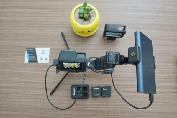 Setup gopro 6 sử dụng nguồn sạc dự phòng