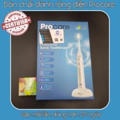 Bàn chải đánh răng điện Procare tặng kèm kem đánh răng thảo được Phoca Thái Lan