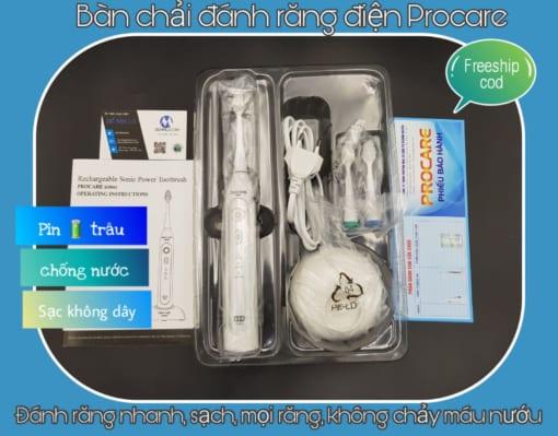 Bàn chải đánh răng điện siêu hot hiệu Procare
