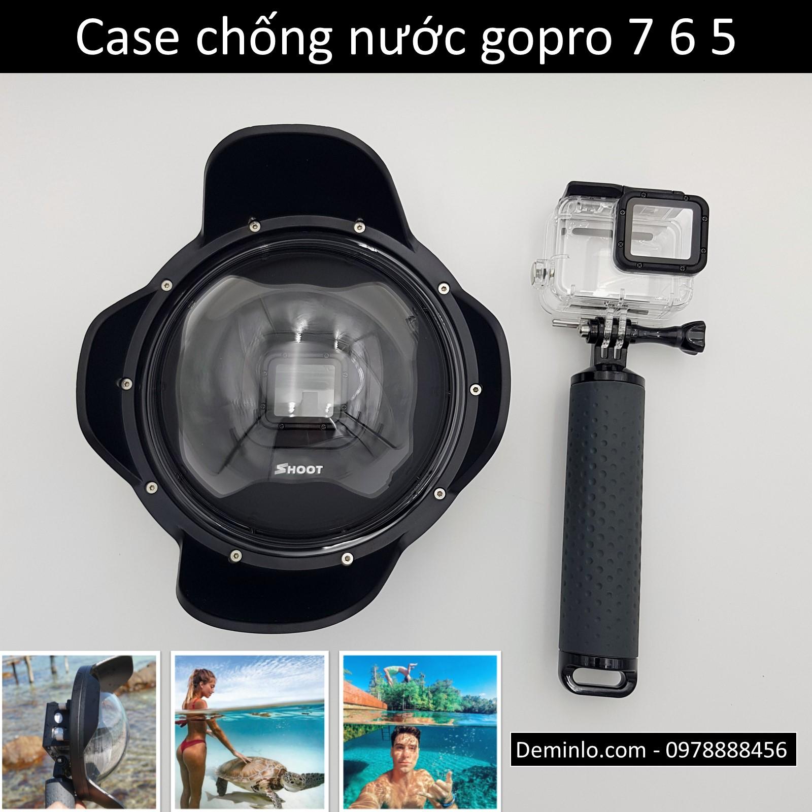 Case chống nước gopro 7 6 5