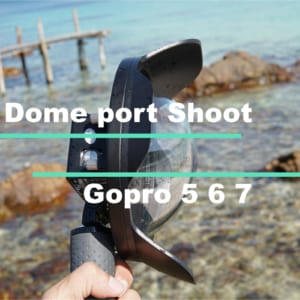 dome port shoot gopro 5 6 7