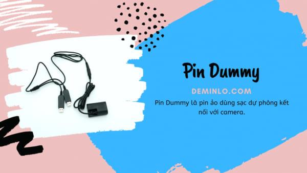 Pin dummy canon lp-e6