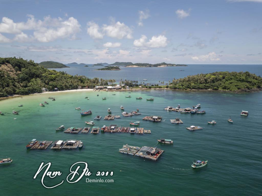 Ảnh Hòn Mấu - Nam Du - Kiên Giang chụp bằng flycam mavic pro
